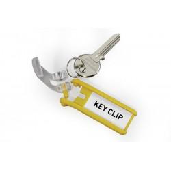 Key Clip targhetta portachiavi