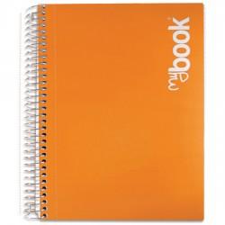 Quaderno con spirale con fori